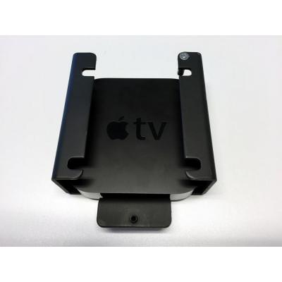 Newstar montagehaak: De NS-ATV100 is een afsluitbare beugel voor Apple TV versie 2, 3 & 4 - Zwart
