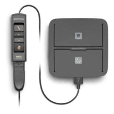 POLY MDA490 QD Audio switch  - Zwart