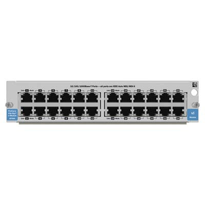 Hewlett Packard Enterprise netwerk switch module: 24-port Gig-T vl Module