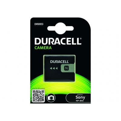 Duracell Camera Battery - replaces Sony NP-BN1 Battery - Zwart