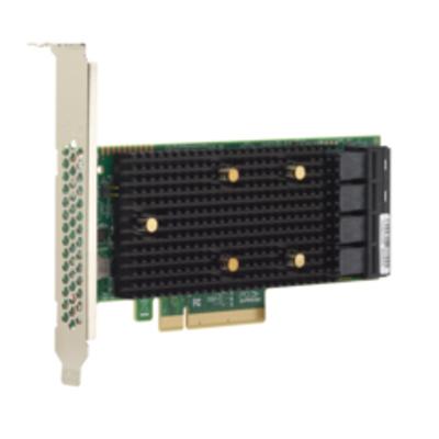 Broadcom 9400-16i Interfaceadapter - Zwart, Groen, Metallic