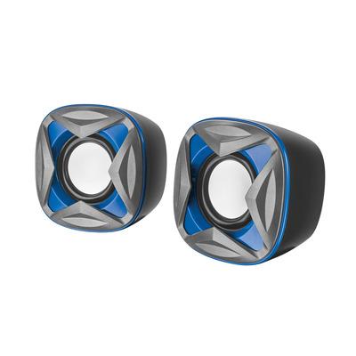 Trust Speaker: Xilo Compact 2.0 - Zwart, Blauw