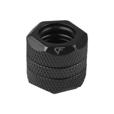 Nanoxia cooling accessoire: CF1-2A - Zwart