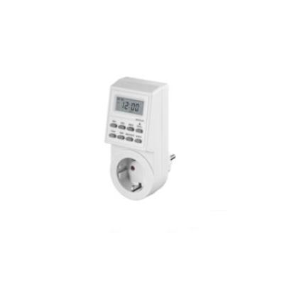 Microconnect elektrische timer: Digital Day & Week Timer Clock - Wit