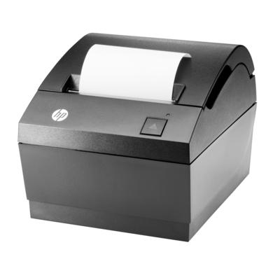 HP LAN Thermal Receipt Printer Pos bonprinter - Koolstof