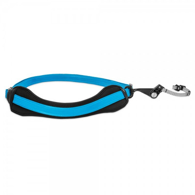 Pacsafe camera riem: Carrysafe 150 - Blauw
