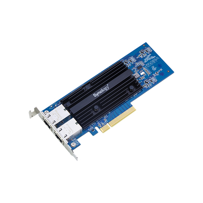Synology 10 Gbps, Full Duplex, PCIe 3.0 x8, 170.6 mm x 68.9 mm x 13.6 mm Netwerkkaart - Zwart,Blauw
