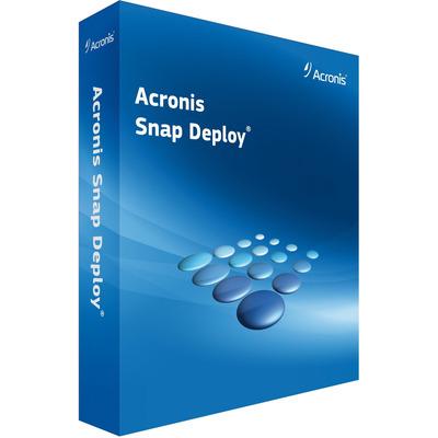 Acronis Snap Deploy (v5), ESD, 1-3 U, 1 Y Software licentie