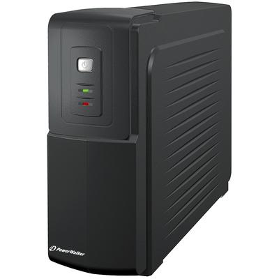 PowerWalker VFD 1000 UPS - Zwart