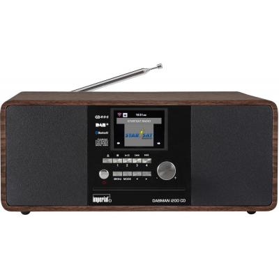 Rehau CD-radio: IMPERIAL DABMAN i200 CD - Walnoot