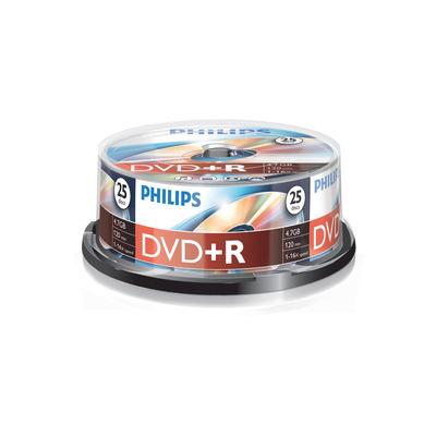 Philips 25 x+R, 4.7GB/120min, 16x DVD
