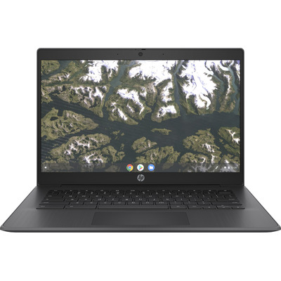 "HP Chromebook 14 G6 14"" Celeron 4GB RAM 32GB eMMC Laptop - Zwart"