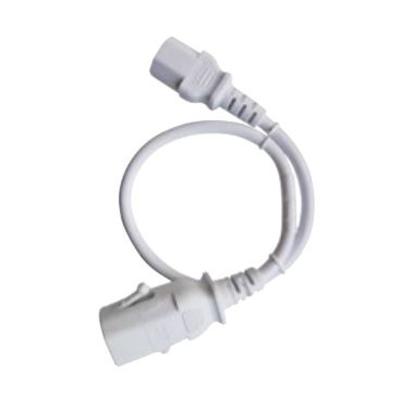 Raritan 2.5m, white, 1 x IEC C-14, 1 x IEC C-15 Electriciteitssnoer - Wit