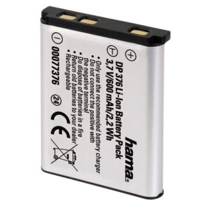 Hama DP 376 Li-Ion Battery - Zilver