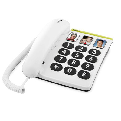 Doro dect telefoon: PhoneEasy 331ph - Wit
