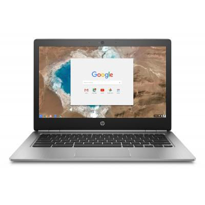 Hp laptop: Chromebook Chromebook 13 G1 - Zilver (Demo model)