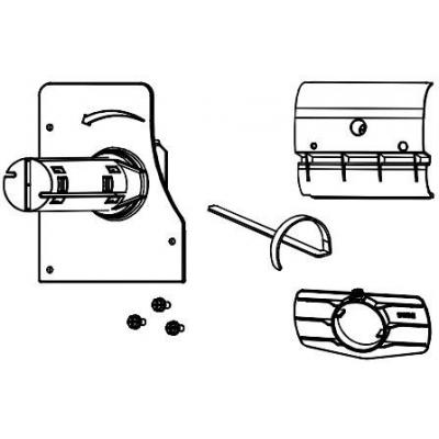 Datamax o'neil printing equipment spare part: Internal Rewind Option for Datamax-Oneil H4S, Non-Powered
