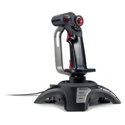 Speed-link game controller: PHANTOM HAWK - Zwart, Grijs