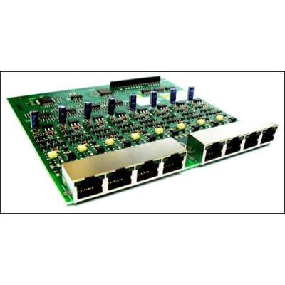 Tiptel digitale & analoge i/o module: 8 a/b - Groen