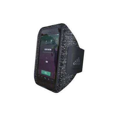 Adidas 5.5'', armband, lycra, black, grey Mobile phone case - Zwart, Grijs