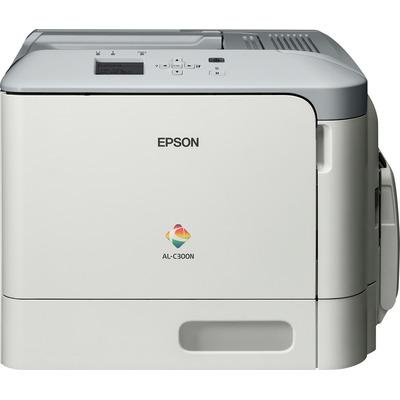 Epson AL-C300N Laserprinter - Zwart, Cyaan, Magenta, Geel