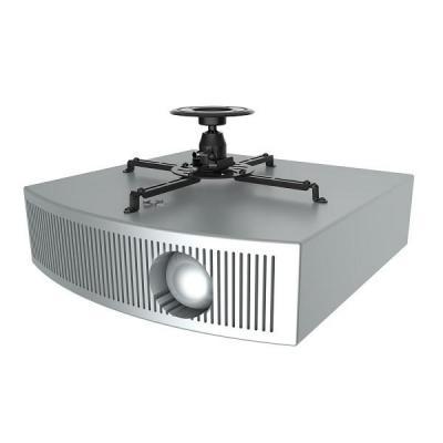 Newstar projector plafond&muur steun: De NM-BC25BLACK is een universele plafondsteun voor beamers en projectoren - .....