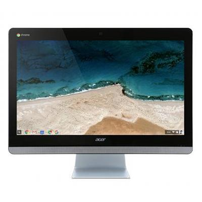 Acer all-in-one pc: Chromebase CA24I - Zwart, Zilver