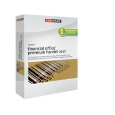 Lexware boekhoudpakket: Financial Office Premium Handel 2017