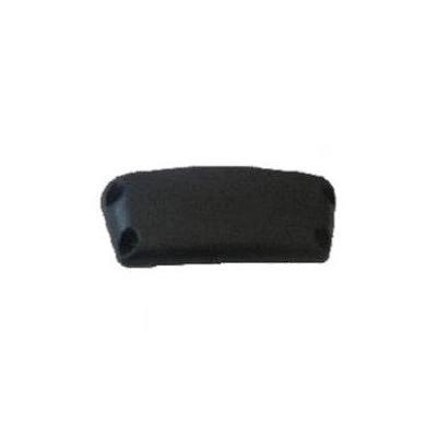 Zebra End Cap, Black Accessoire  - Zwart