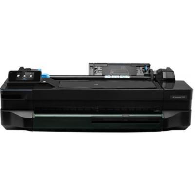Hp grootformaat printer: Designjet T120 24-inch ePrinter - Zwart, Cyaan, Magenta, Geel