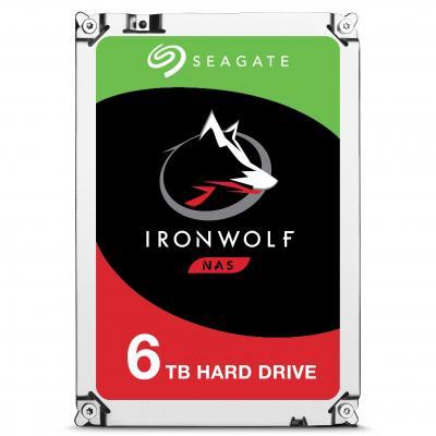 Seagate interne harde schijf: IronWolf 6TB SATAIII, 3.5'', 7200 RPM, 128MB cache
