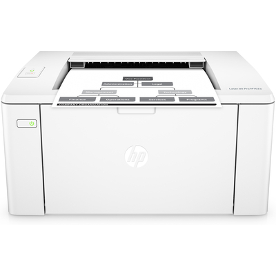 Hp laserprinter: LaserJet LaserJet Pro M102a printer - Zwart
