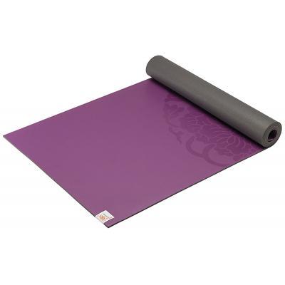 Gaiam fitness, gymnastiek & gewichtstraining: Dry-Grip Fitness- / Yogamat - Paars - 4 mm