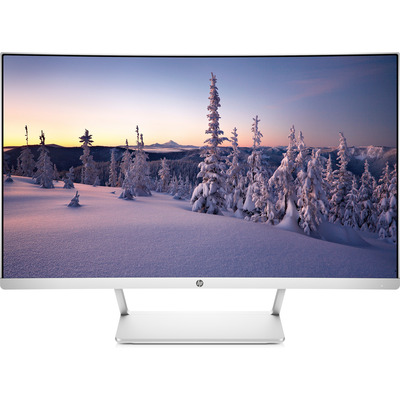 HP 27 Monitor - Zilver,Wit