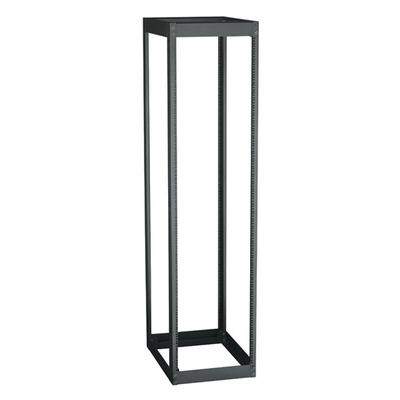Black Box 4-Post, 51U Rack - Zwart