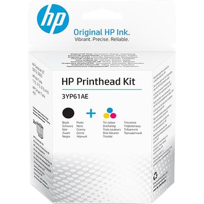 HP zwart/drie-kleuren GTpenset Printkop