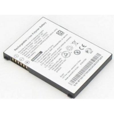 Acer batterij: 3.7V, 1600mAh, black - Zwart