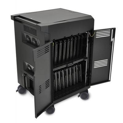Lenovo multimedia kar & stand: 500 PSDEVICE CHARGING CART (EU) - Zwart