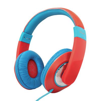 Trust Sonin - Kinder koptelefoon - On-ear - Rood Headset - Blauw,Rood