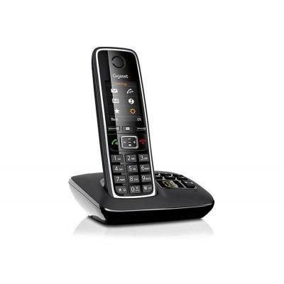 Gigaset dect telefoon: C530A - Zwart, Zilver