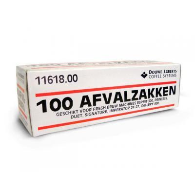 Douwe egberts reststroom supply: Afvalzak DE gallery 400 -20my/rl 100zk