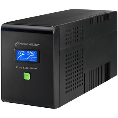 PowerWalker VI 1500 PSW UPS - Zwart