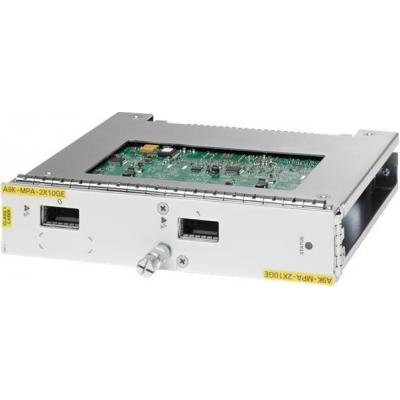 Cisco A9K-MPA-2X10GE= netwerk switch module