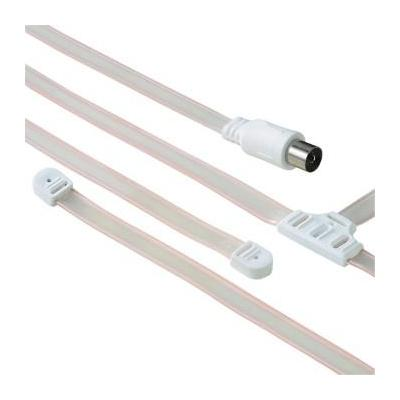 Hama antenne: Dipole Antenna, Coaxial - Wit