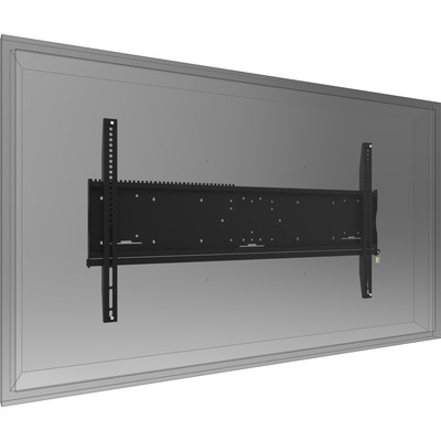 SmartMetals Universele wandbevestiging: max. 1100 x 600 mm, 160 kg Montagehaak - Zwart