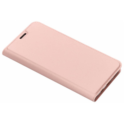 Slim Softcase Booktype Huawei Mate 20 Lite - Rosé Goud / Rosé Gold Mobile phone case