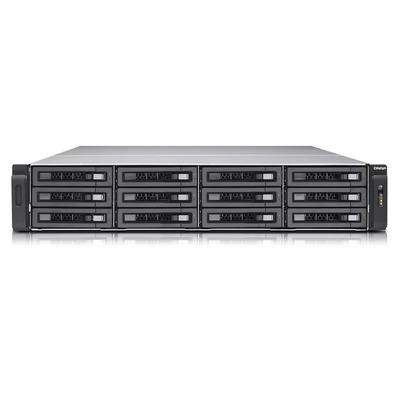 QNAP TVS-EC1280U-SAS-RP R2 NAS - Zwart