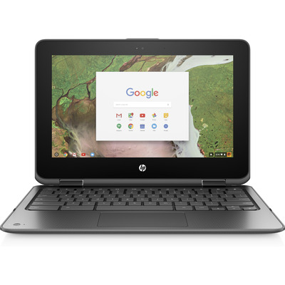 "HP Chromebook x360 11 G1 EE 11,6"" Touch Celeron 8GB RAM 64GB eMMC Laptop - Zwart"