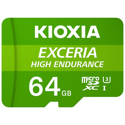 Kioxia Exceria High Endurance Flashgeheugen - Groen