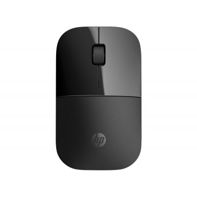 Hp computermuis: Z3700 Black Wireless Mouse - Zwart